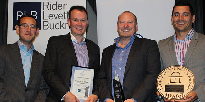 Photo of The Braggs Takes Out Top Development Award