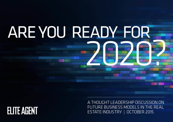 Elite Agent Get Ready for 2020 October 2015
