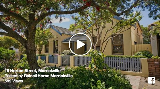 Photo of Video of the Week – 15 Horton Street, Marrickville