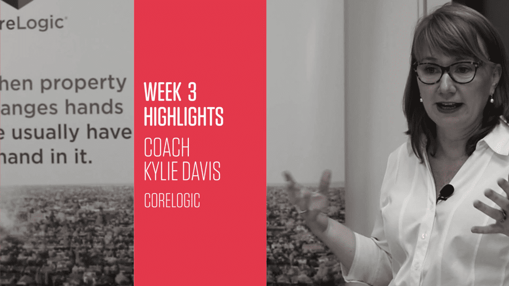 Photo of Transform 2017 Week 3A Kylie Davis: What Buyers Really Want, Creating Constant Referrals