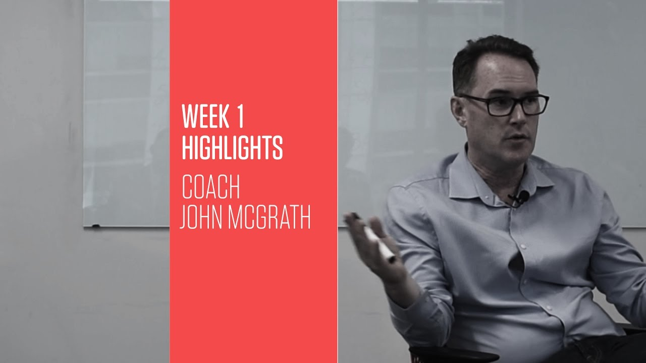 Photo of Transform 2017 W1 John McGrath: What got you here won't get you there