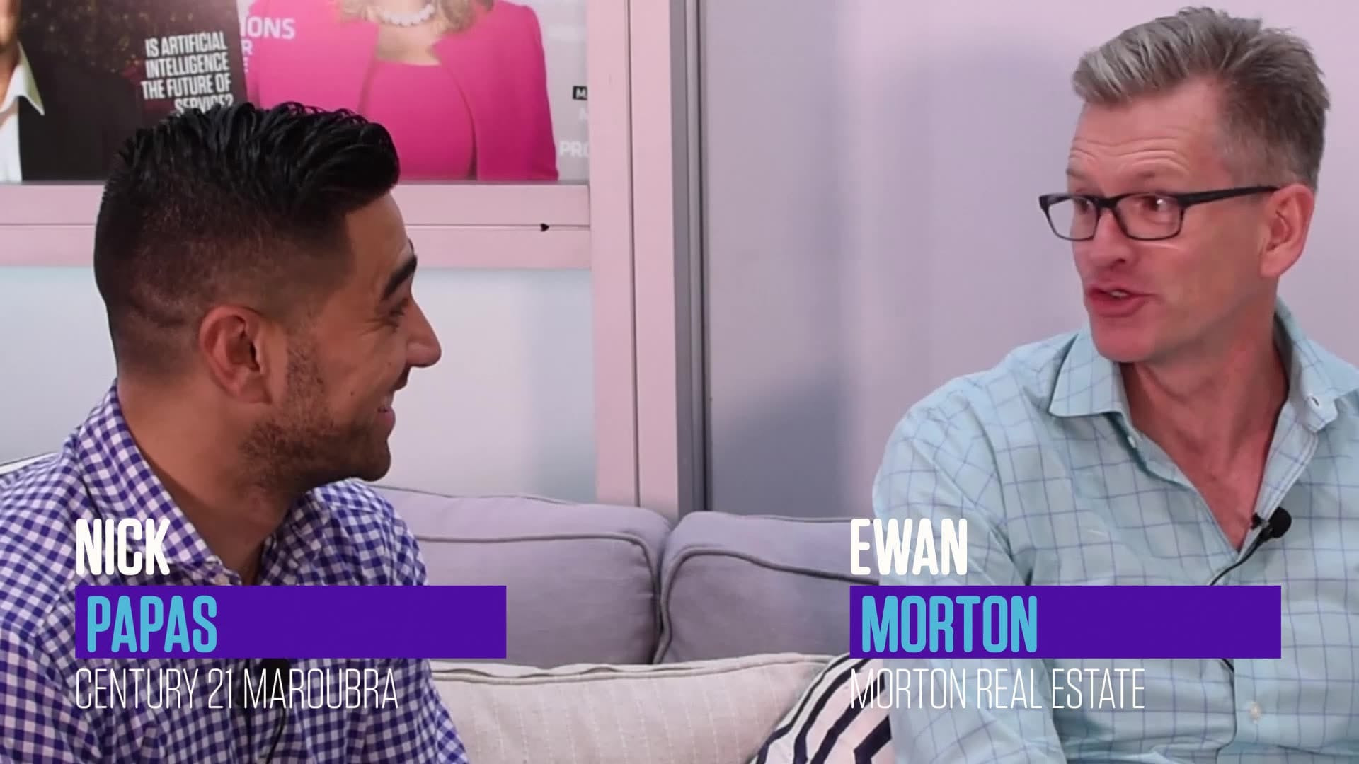 Photo of Feature Interview: Ewan Morton and Nick Papas with Claudio Encina