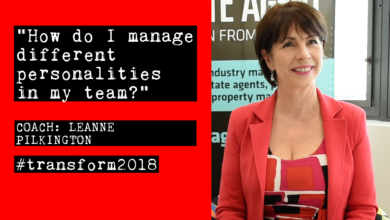 Photo of Leanne Pilkington: How do I manage different personalities in my team?