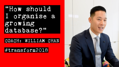 Photo of William Chan: How should I organise a growing database?