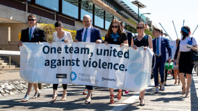 Photo of Harcourts Walk A Mile In Their Shoes for charity