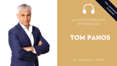 Photo of Episode 80: Tom Panos – Advice for the current market, Whats happening at AREC19, The Leadership Diaries