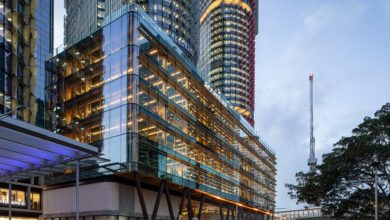Photo of Australia's first engineered timber office wins NSW's top property honour