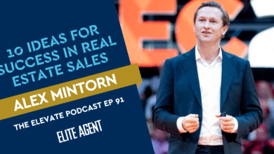 Photo of 10 ideas that will make you more successful in real estate sales: Alex Mintorn