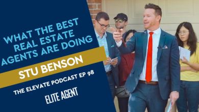 Photo of What the Best Real Estate Agents Are Doing: Stu Benson – Episode 98