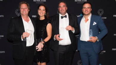 Photo of WA's top real estate professionals rewarded