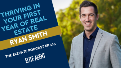 Photo of Thriving in your first year of real estate: Ryan Smith