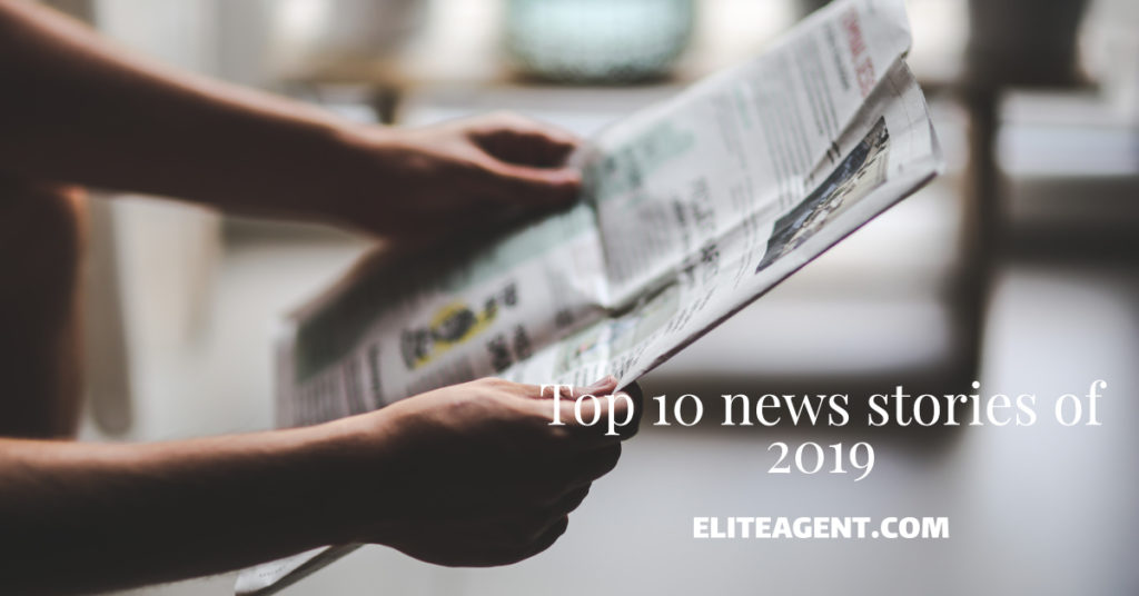 Top 10 news stories of 2019