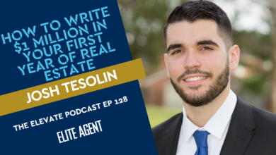 Photo of How Josh Tesolin wrote a million dollars in his first year of real estate