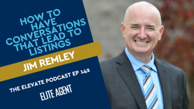 Photo of Jim Remley: How to have conversations about real estate (that lead to listings!)