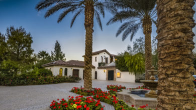Photo of Sylvester Stallone's stunning California mansion