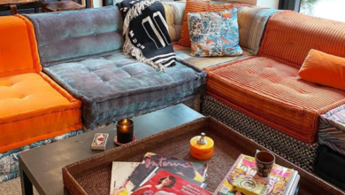 Photo of Inside model Gigi Hadid's colourful home