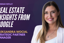 Photo of Real Estate Insights from Google with Aleksandra Wocial