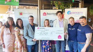 Photo of Homely supports Harcourts Property Centre's Hairgust fundraiser