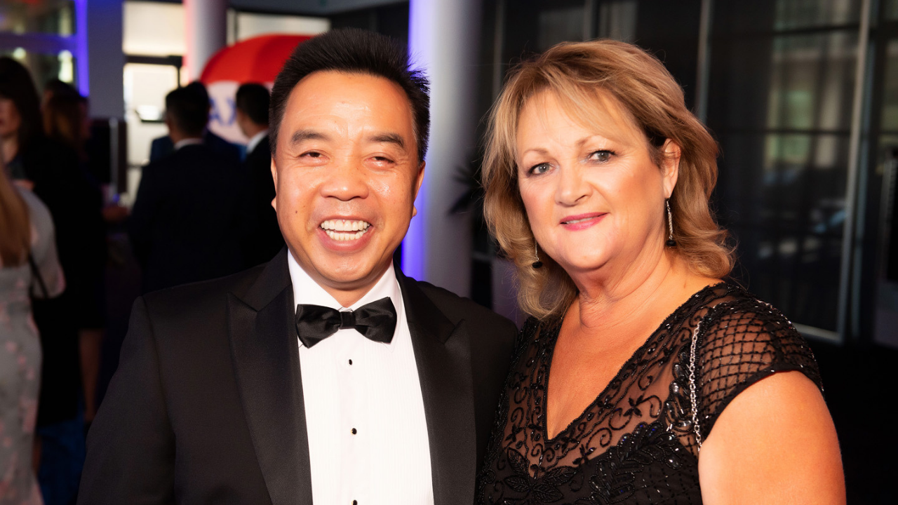 Don Ha and Corinna Mansell