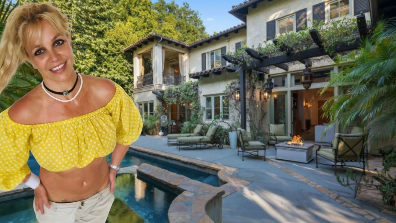 Britney Spears home 2007 #FreeBritney