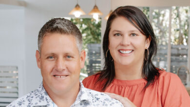 Kass and Peter Livesey Ms UrbanX Dan Argent Sunshine Coast agency
