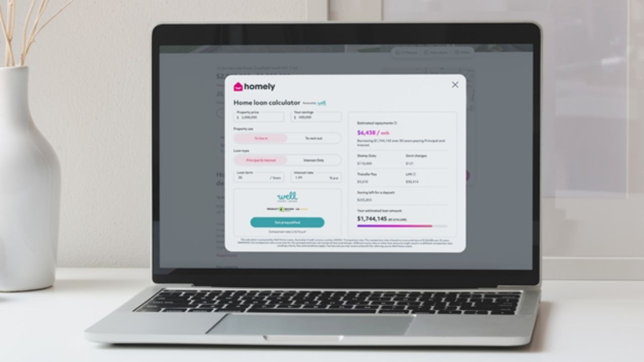 Homely has announced an integration with Well Home Loans